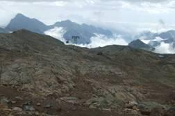 Colle d' Ólen – Blick nach Osten